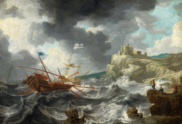 csm_Lempertz-1083-65-Paintings-15th-19th-C-Jan-Peeters-attributed-to-Ships-in-Stormy-Seas-by-a_d4cb744eb1