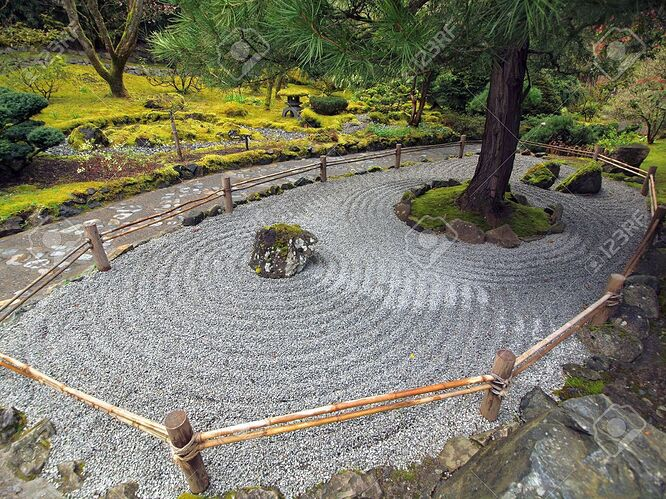6821183-arrangement-of-stones-and-gravel-create-traditional-japanese-stone-garden