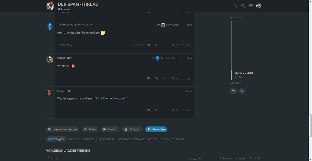 Rocket Beans Forum