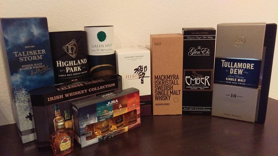 Whisky (für Amis und Iren auch Whiskey) - Alles rund ums \
