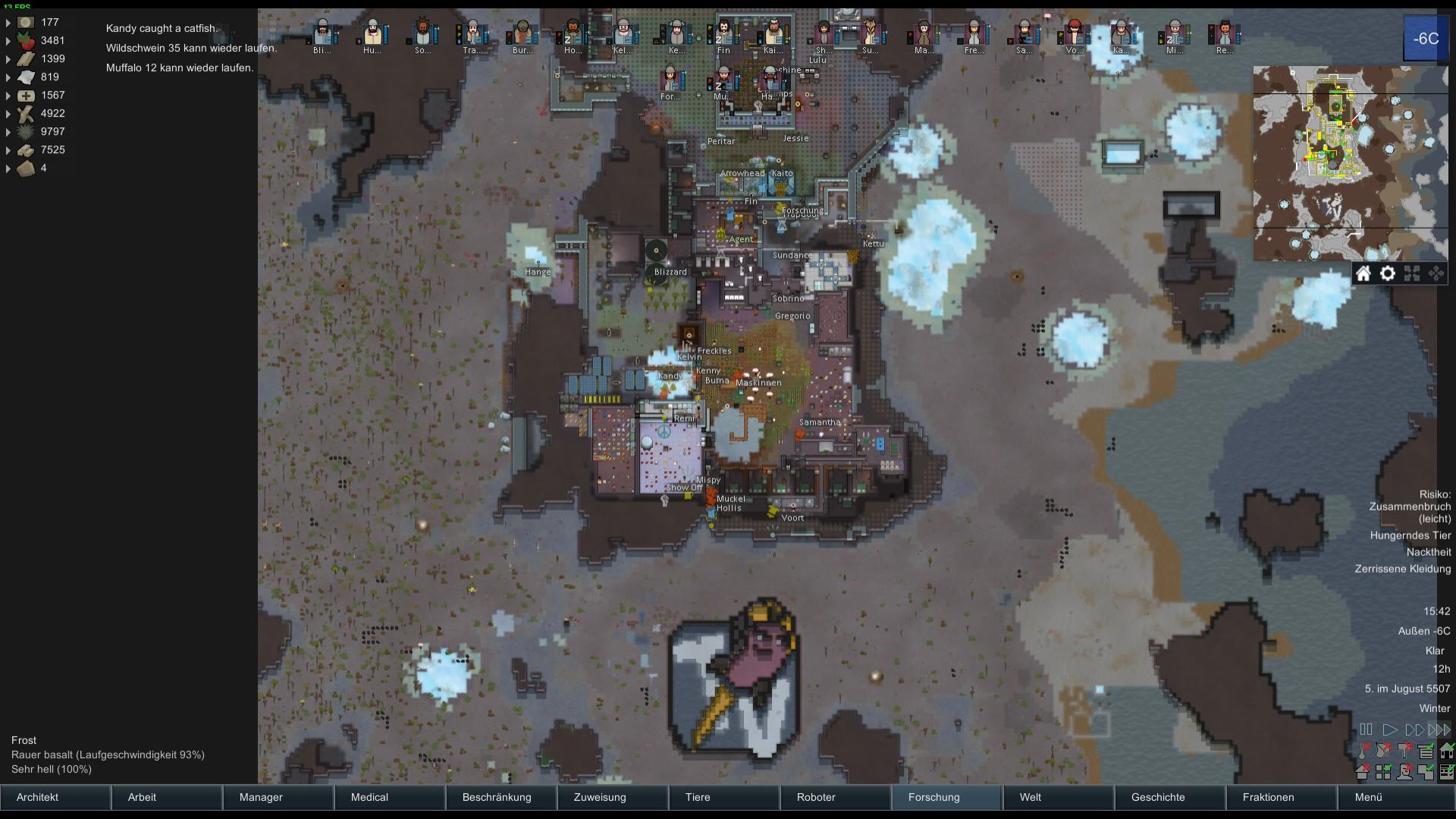 Eure Rimworld Basen und generelles zu Rimworld - Games